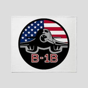B-1B Lancer Throw Blanket