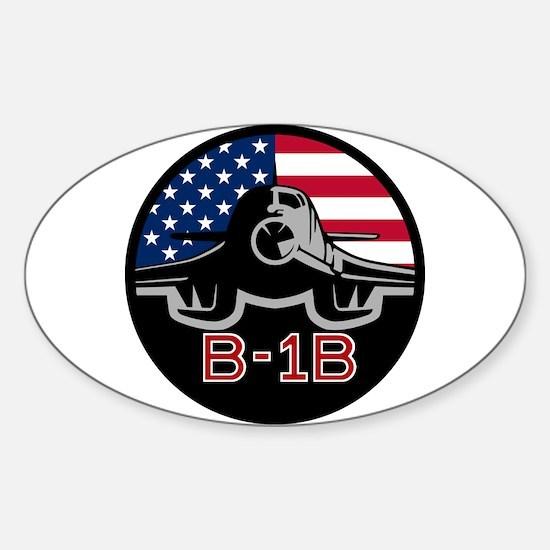 B-1B Lancer Sticker (Oval)