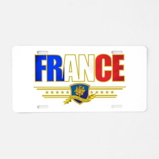 France Outline.png Aluminum License Plate