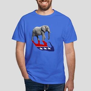 93ab4faa1 Republican Elephant Shadow Dark T-Shirt