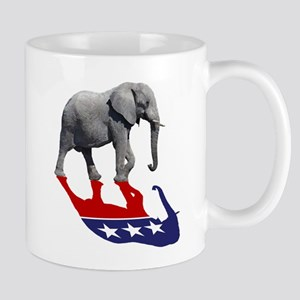 Republican Elephant Shadow Mug