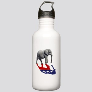 Republican Elephant Shadow Stainless Water Bottle