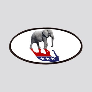 Republican Elephant Shadow Patches