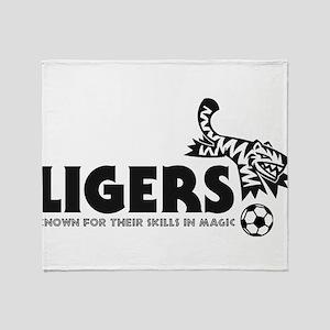 Ligers Throw Blanket