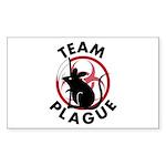 Team Plague Sticker (Rectangle 10 pk)