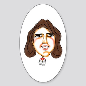 GoVeRnOr NiKKi HaLeY Sticker (Oval)