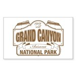 Grand Canyon National Pa Sticker (Rectangle 10 pk)