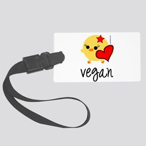 veganhart Large Luggage Tag