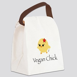 veganchick Canvas Lunch Bag