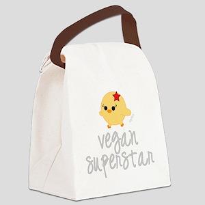 Vegan Superstar Canvas Lunch Bag