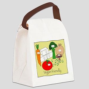 mushroom_veganfriendlybl Canvas Lunch Bag