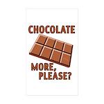 vcb-chocolate-bar Sticker (Rectangle 10 pk)