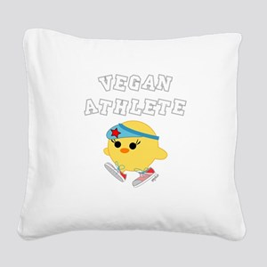 athletev4 Square Canvas Pillow