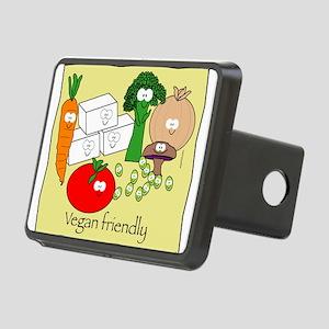 mushroom_veganfriendlybl Rectangular Hitch Cov