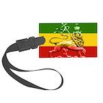 Rasta Reggae Lion of Judah Large Luggage Tag
