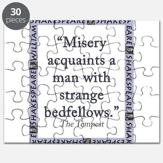 Misery Acquaints A Man Puzzle