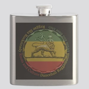 Reggae Music Lion of Judah Flask