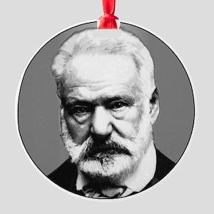 Victor Hugo Round Ornament