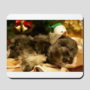 Christmas Snoozing Mousepad
