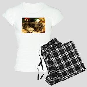 Christmas Snoozing Women's Light Pajamas