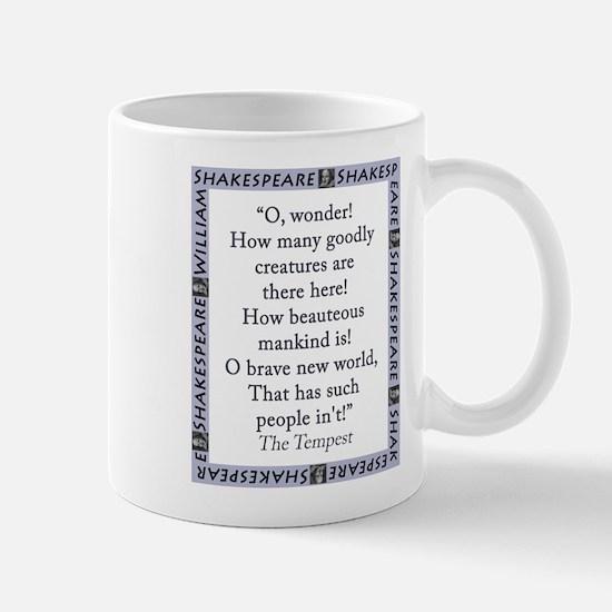 O, Wonder! How Many Goodly Creatures Mug