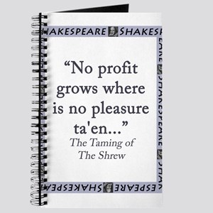 No Profit Grows Journal