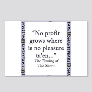 No Profit Grows Postcards (Package of 8)