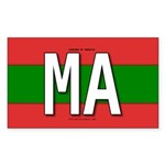 ma-colors Sticker (Rectangle 10 pk)