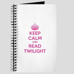 Keep calm and read twilight Journal