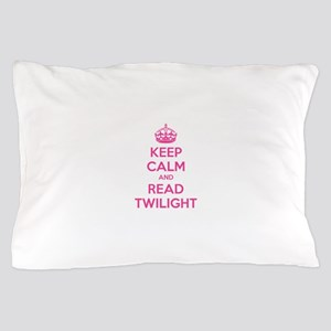 Keep calm and read twilight Pillow Case