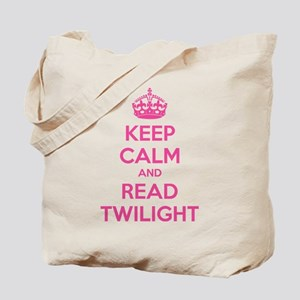 Keep calm and read twilight Tote Bag