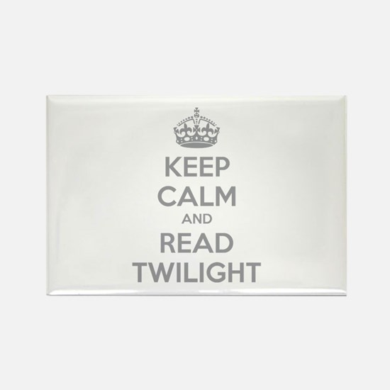 Keep calm and read twilight Rectangle Magnet