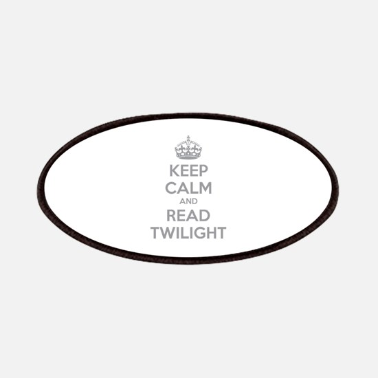 Keep calm and read twilight Patches
