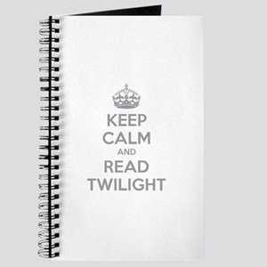 Keep calm and read twilight Journal