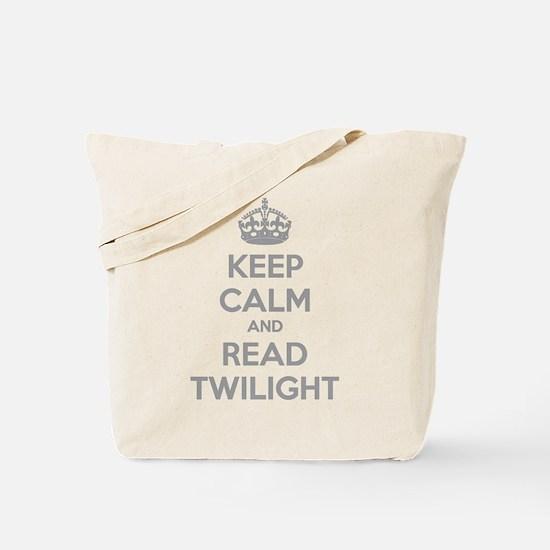 Keep calm and read twilight Tote Bag