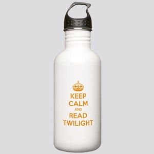 Keep calm and read twilight Stainless Water Bottle
