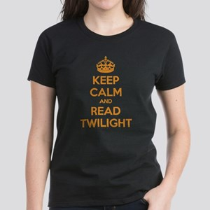 Keep calm and read twilight Women's Dark T-Shirt