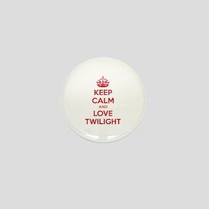 Keep calm and love twilight Mini Button