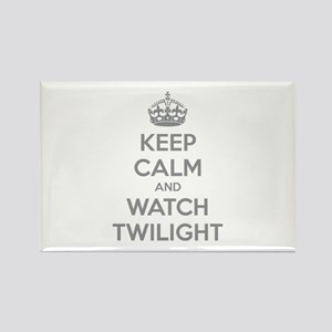 Keep calm and watch twilight Rectangle Magnet