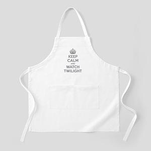 Keep calm and watch twilight Apron