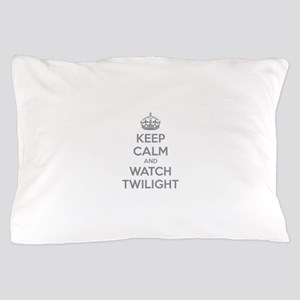 Keep calm and watch twilight Pillow Case