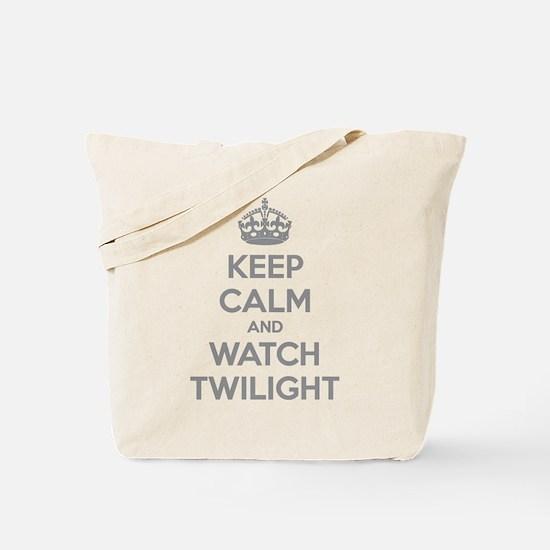 Keep calm and watch twilight Tote Bag