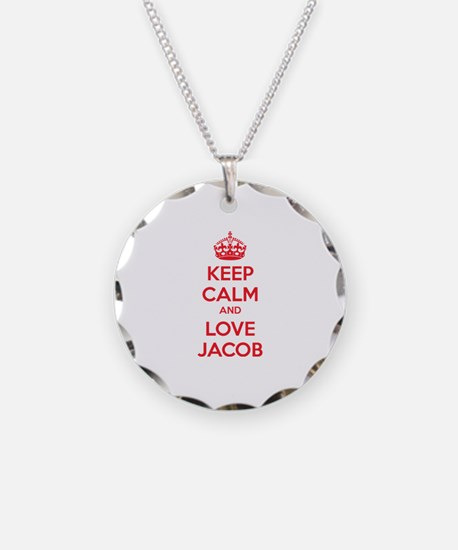 Keep calm and love Jacob Necklace