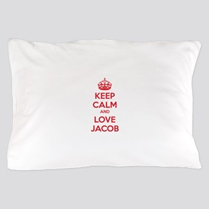 Keep calm and love Jacob Pillow Case