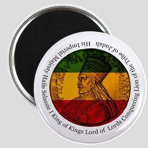 Haile Selassie King of Kings Magnet
