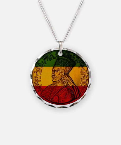 Haile Selassie King of Kings Necklace
