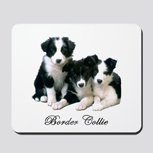 Border Collie Puppies Mousepad