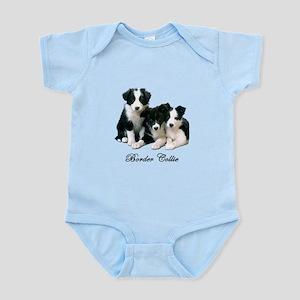 Border Collie Puppies Infant Bodysuit