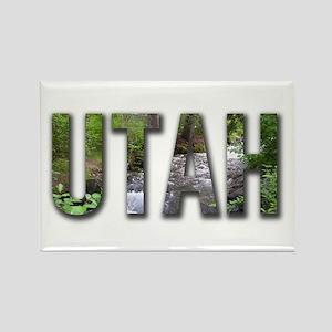 Utah Souveniers Rectangle Magnet