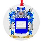 Andrejs Round Ornament